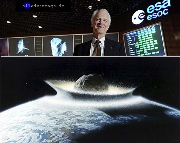 Asteroiden auf Kollisionskurs Erde