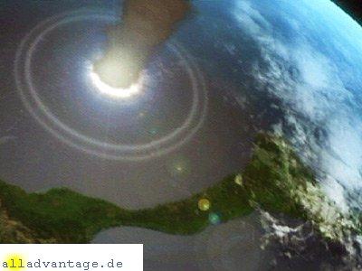 Asteroid löst Mega-Tsunami aus