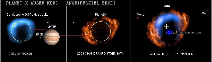 Planet X ausser Kurs! Angriffsziel Erde Dezember 2012 Nasa